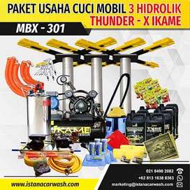 "PAKET CUCI MOBIL ""3 HIDROLIK"" MBX-301 IKAME Pusat Hidrolik Mobil Motor"