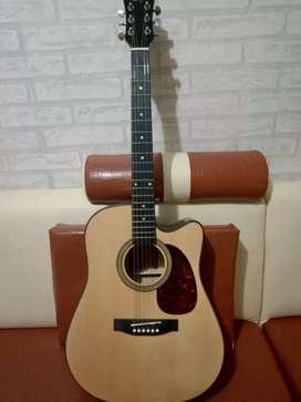 Jual Gitar Skylark Acoustik elektrik kondisi masih sangat mulus