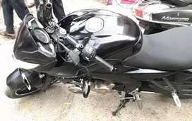 Pulsar 200NS firstparty insurance till sep.Recently serviced new tire