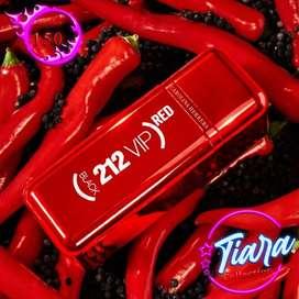 Parfum 212 VIP Black Red 100ml ori Singapore