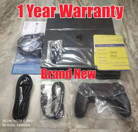 Sony Ps4 1TB Slim Brand New With One Year Sony Warranty