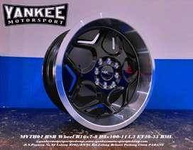 Pelek Mobil Kijang Lgx R16X7/8 MYTH04 HSR -Barang Import