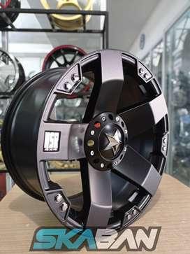 jual hsr wheel type rasta ring 18x9 h6(139,7) bisa kredit