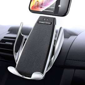 S6 SMART SENSOR CAR WIRLESS CHARGER WITH MOBILE HOLDER
