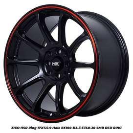 ZICO HSR R17X75/9 H8X100-114,3 ET40/30 SMB/RR