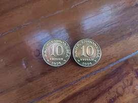 Uang lama koin 10 rupiah