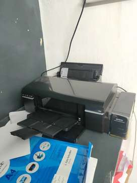 Epson L805 sublimation printer 3 months used and with bill.