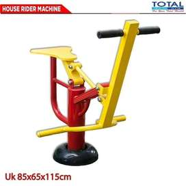 Alat Fitness Horse Rider Machine Total Fitness Outdoor - Fitnes Taman
