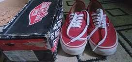 SEPATU VANS RED ORIGINAL