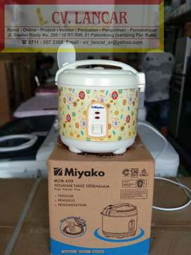 Rice Cooker MIYAKO 0,6L (GRATIS Ongkir bayar dirumah)