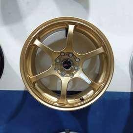 Velg racing ring16 HSRwheel dobel pcd 8×100-114,3 Venice Medan