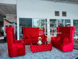 Sofa raja kancing model mahabarata