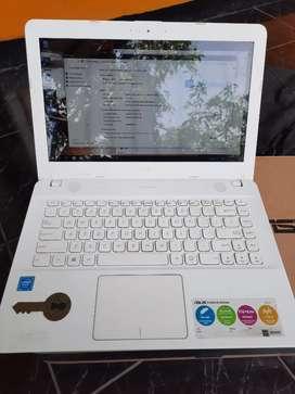 DIJUAL Laptop Second ASUS X441s Intel Celeron(R) CPU N3060 FULLSET