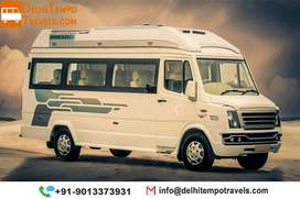 Luxury Tempo Traveller on Rent |12 Seater Tempo Traveller Hire