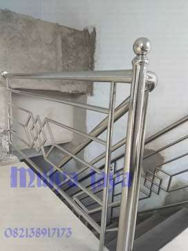 Relling,  pagar balkon stenliss