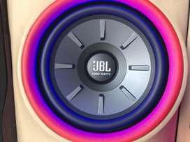 """Subwoofer Jbl 12"""" + Power 4ch  1,1juta"""