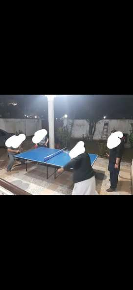 Table Tennis with Orignal rackets and net
