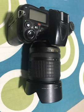 Nikon D7000 and 18-105mm lens
