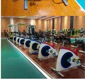 heavy duty spin bike crosstrainer