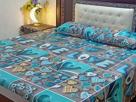 3pic cotton bedsheets for sale