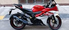 Yamaha R15 V2 red colour