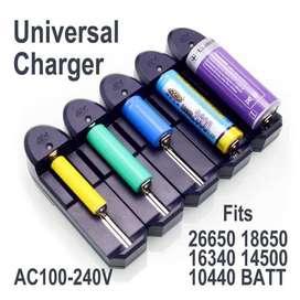 Charger batre apa aja, tipe AA, AAA, 18650, DLL.