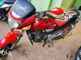 Bike with excellent condition and new parts speed up to 100 max easily