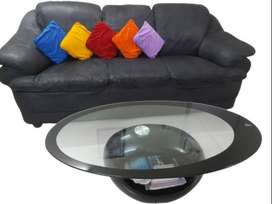 5 (3+1+1) Seater Royal Sofa with Centre Table (TV Trolley free)