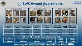 3 Marla plots in Blue World Islamabad at Discounted Rates
