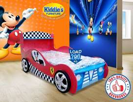Mickey Mouse Car Bed/ Boys Car Bed/ Bed for Boys/ Kids Single Bed/ Bed