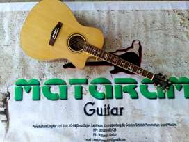 Akustik Guitar PRS  Kayu Spruce Import Model Mewah Suara Mantap