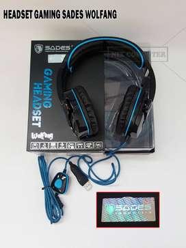 Headset Gaming Sades Wolfang SA901