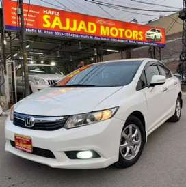 Honda Civic VTI Oriel Prosmetic Model 2014