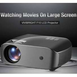 Vivibright F10 LCD Projector 2800 Lumens 1280*720P Resolution 15000:1