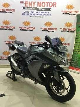 Kawasaki Ninja FI 250 thn 2014 plat pajak baru