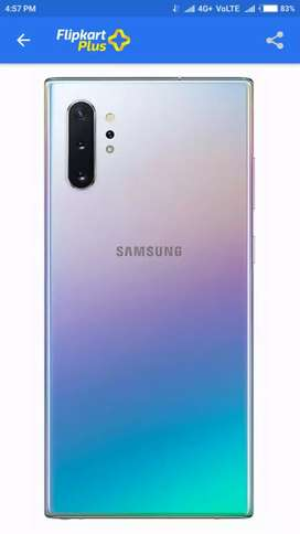 Samsung Note 10 plus (12gb.256gb) 15 day old