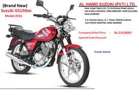 Suzuki GS-150se (Brand New) Special Discount Offer