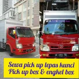 Sewa mobil Blindvand pick up box rental pickup truk engkel di bali