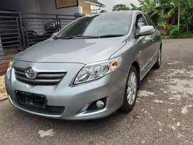 JUAL MOBIL TOYOTA ALTIS 2010 TYPE G AUTOMATIC