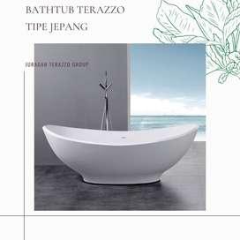 Bathtub terazzo tipe Perahu kualitas high premium P120