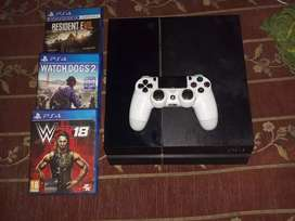 PS4 with disc