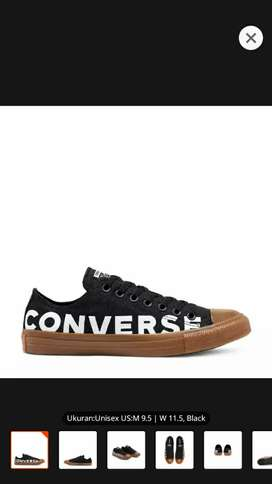 Converse black gum honey