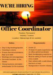 Walk In Interview For Office Coordinator