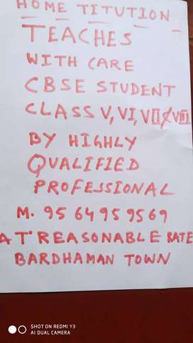 Home tution for CBSE students