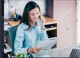 Girl accountant cum shop incharge