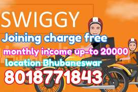 Swiggy require candidates for delivery boy