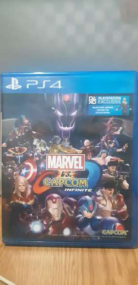 Marvel vs Capcom Kaset PS4