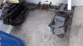 Support wheel for activa