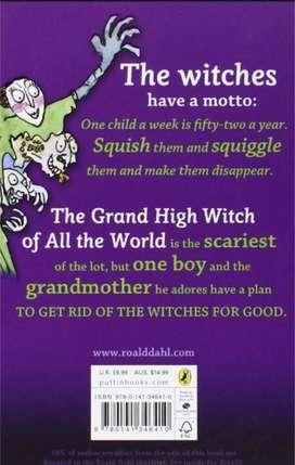 The Witchs By Roald Dahl New In Hyderabad and Other Cities in Pakistan