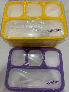 Lunch box Pediasure ( tempat makan ) 4 skat